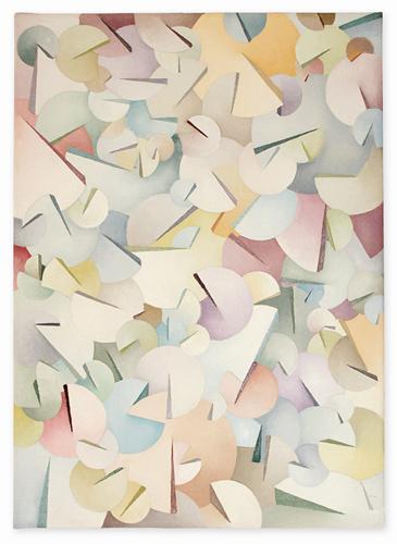 Pattern gradient IV – oil on canvas, 70x50 cm
