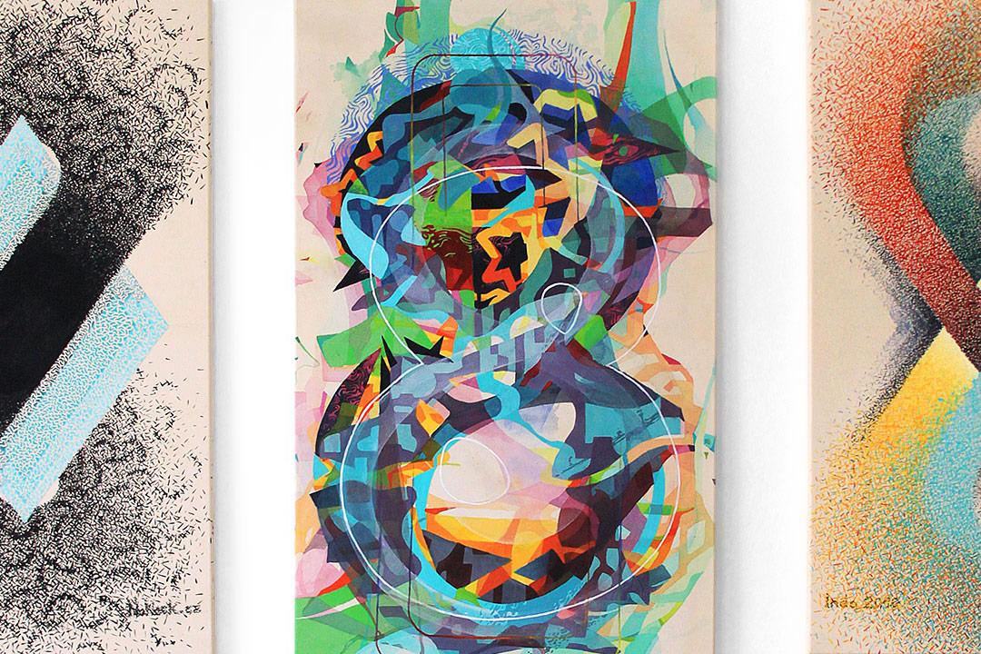8 – acrylic on canvas, 70×120 cm – 3x